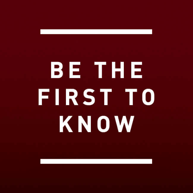 Be The First To Know - On